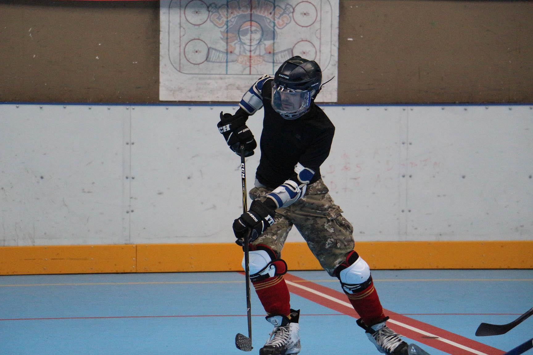 Roller hockey adultes