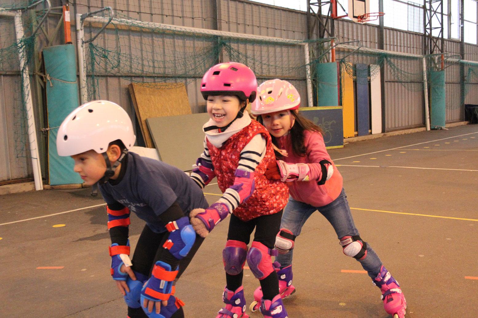 Cours roller enfants