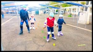 apprendre à patiner